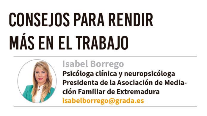 Grada 127. Isabel Borrego