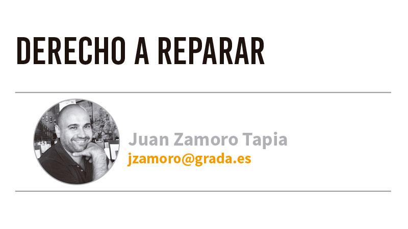 Derecho a reparar. Grada 127. Juan Zamoro