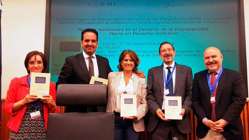 El Cermi presenta el libro 'Nuevos horizontes en el Derecho de la Discapacidad: hacia un Derecho inclusivo'