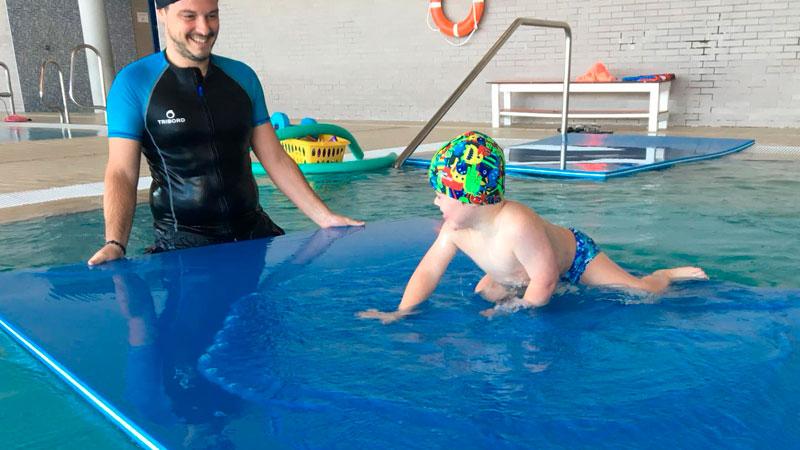 Down Mérida ofrece a sus usuarios el servicio de fisioterapia acuática