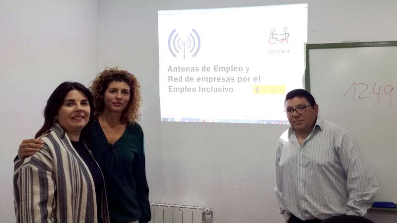 Cocemfe Cáceres presenta a las empresas de Moraleja el programa 'Red de antenas de empleo inclusivo'