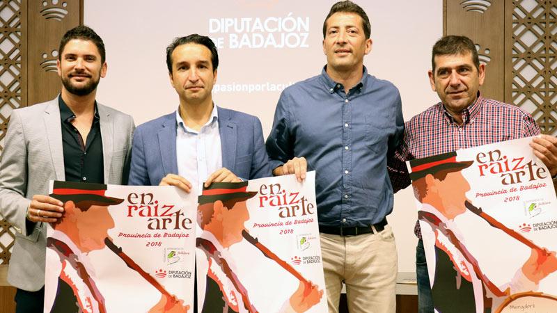 La Diputación de Badajoz promociona el folklore extremeño con el programa 'Enraizarte'