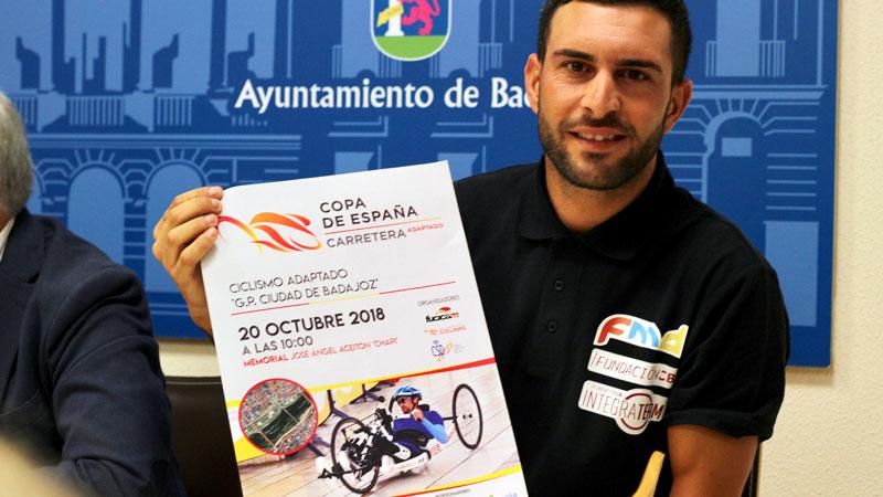 La Copa de España de ciclismo adaptado celebra su última prueba de la temporada en Badajoz