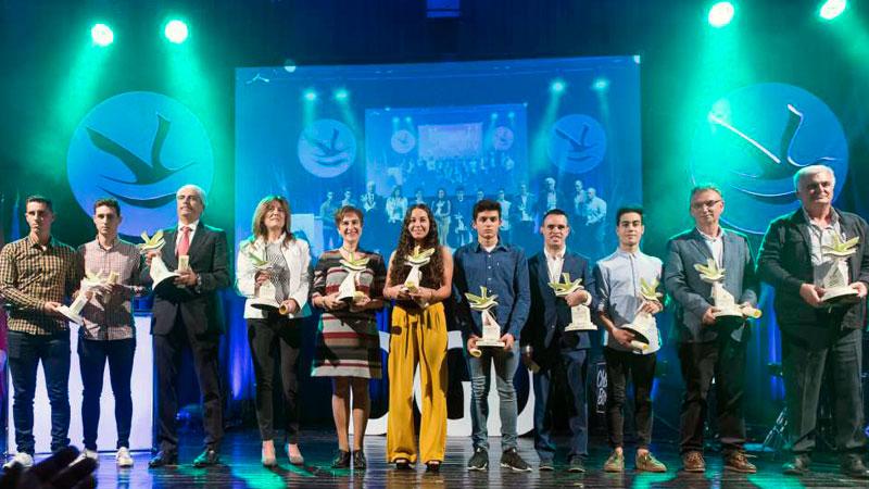 Valencia de Alcántara acoge la entrega de los Premios Extremadura del Deporte 2017