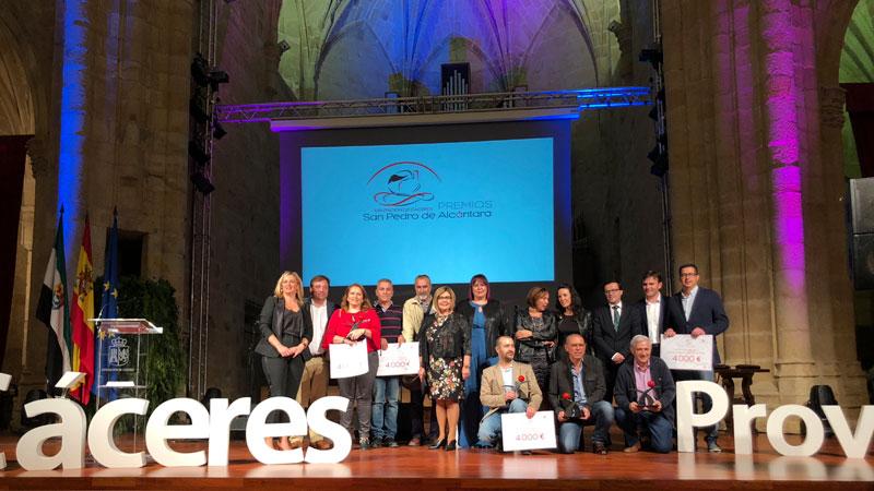 La Diputación de Cáceres entrega los II Premios San Pedro de Alcántara a la innovación local