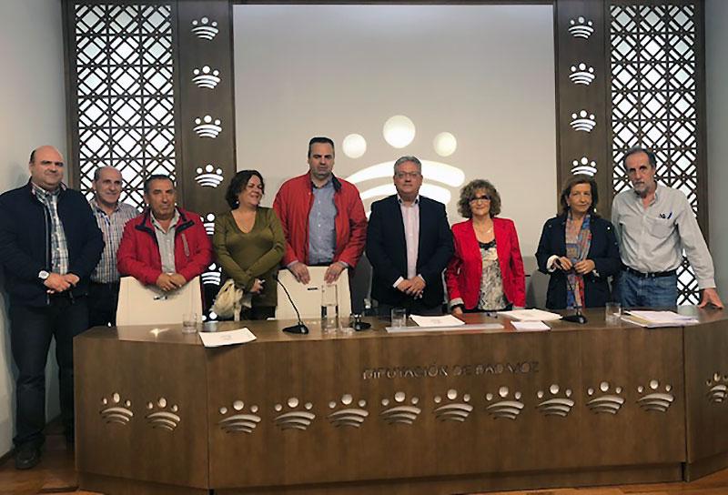 La Diputación de Badajoz promociona la inserción laboral de personas con discapacidad