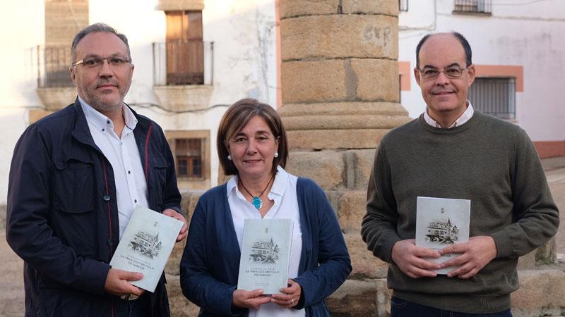 José Antonio Ramos y Óscar de San Macario presentan el libro 'La Historia y el Arte de la Muy ilustre villa de Garciaz'