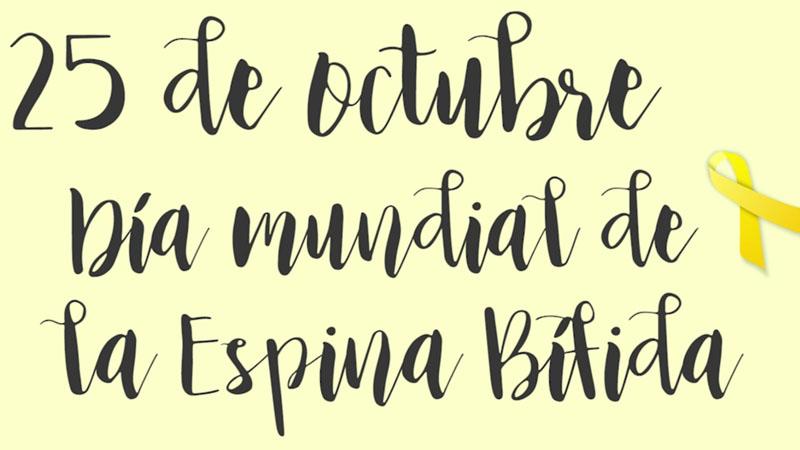 El 25 de octubre se conmemora el Día mundial de la espina bífida