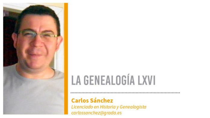 Genealogía LXVI. Grada 128. Carlos Sánchez