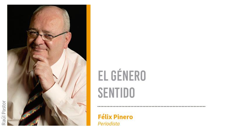El género sentido. Grada 128. Félix Pinero