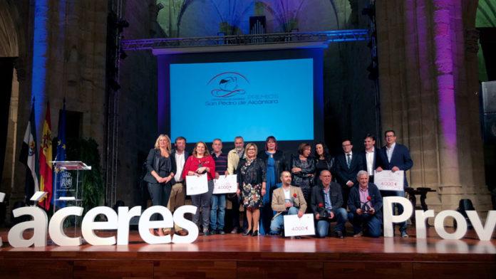 II Premios San Pedro de Alcántara a la innovación local. Grada 128. Diputación de Cáceres