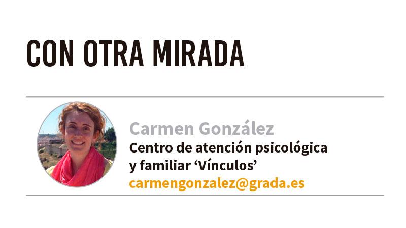 Con otra mirada. Grada 128. Carmen González