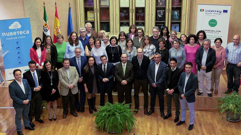 La Diputación de Badajoz instalará 'Espacios nubeteca' en varias bibliotecas municipales de la provincia