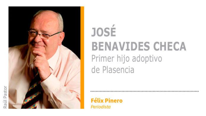 José Benavides Checa, primer hijo adoptivo de Plasencia