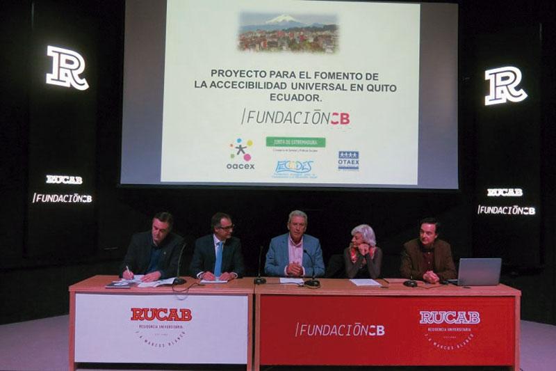 Fundación CB promueve la accesibilidad universal en Ecuador