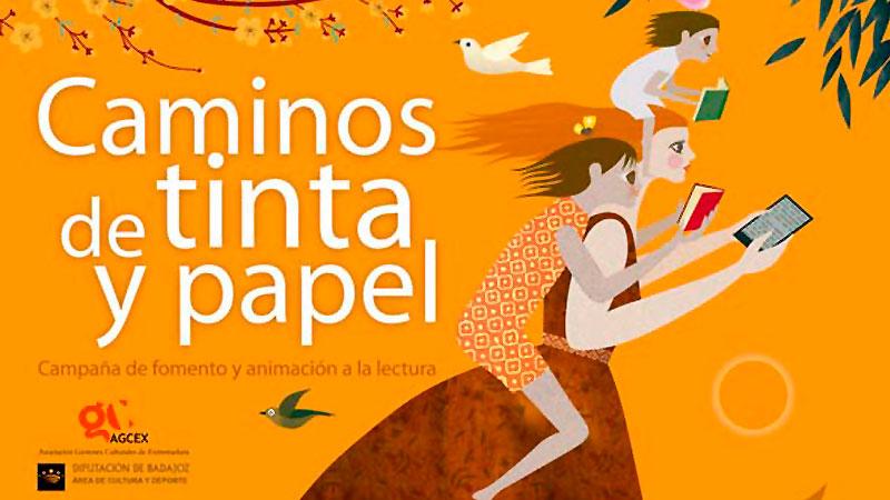 La Asociación de Gestores Culturales de Extremadura continúa con la campaña 'Caminos de tinta y papel'
