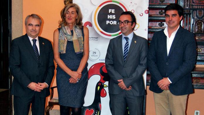 El Ayuntamiento de Badajoz presenta la edición de este año de Fehispor en Lisboa