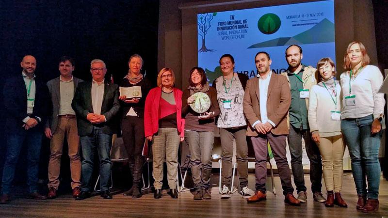 El Foro mundial de innovación rural premia a los proyectos extremeños 'Laneras' y 'Extremerinas'