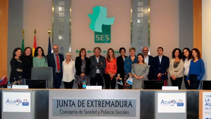 Adaba celebra una jornada sobre la discapacidad auditiva en Extremadura