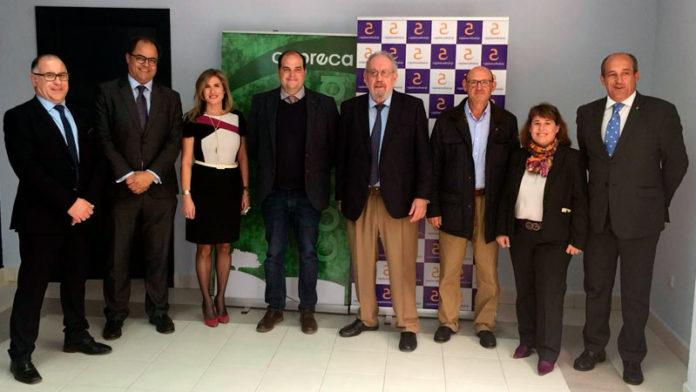 Cajalmendralejo refuerza su colaboración con la Feria Agroganadera de Trujillo