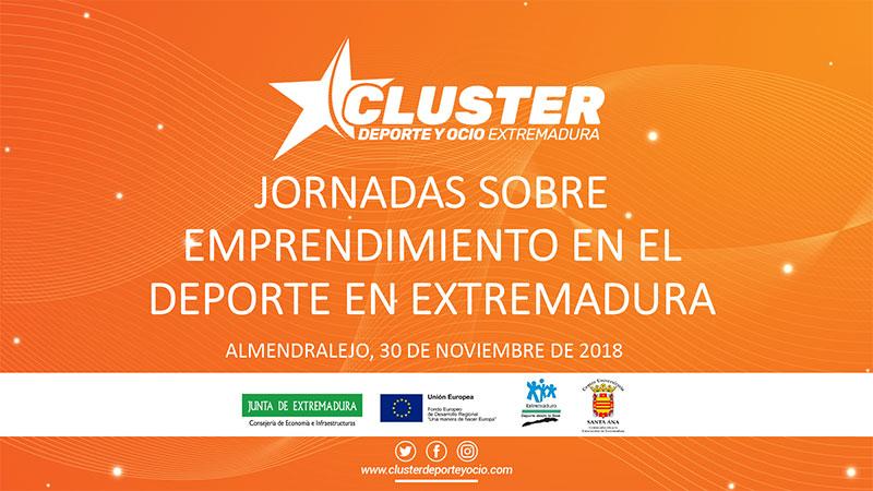 El Clúster del Deporte organiza una jornada sobre emprendimiento en el deporte en Extremadura
