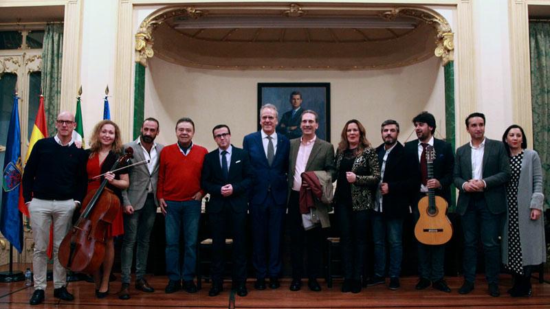La Diputación de Badajoz y la Universidad de Extremadura ponen en marcha un aula de flamenco