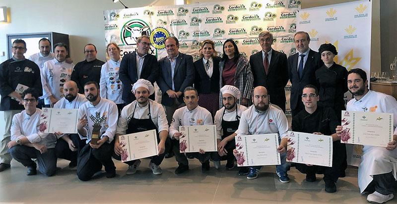 El chef Víctor Encinal gana el XI Premio Espiga Corderex-Caja Rural de Extremadura