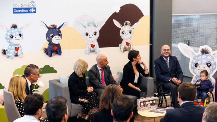 Fundación Solidaridad Carrefour y Famosa presentan 'Escudero 2.0' a favor de la infancia con discapacidad física y orgánica