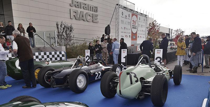 El Jarama y su espíritu del motor. Grada 128. Motor
