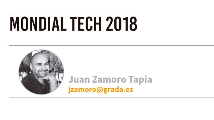 Mondial Tech 2018. Grada 128. Juan Zamoro