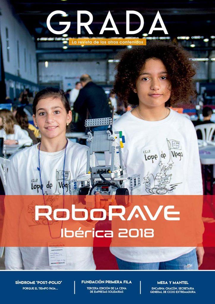 RoboRAVE Ibérica 2018. Grada 129. Portada