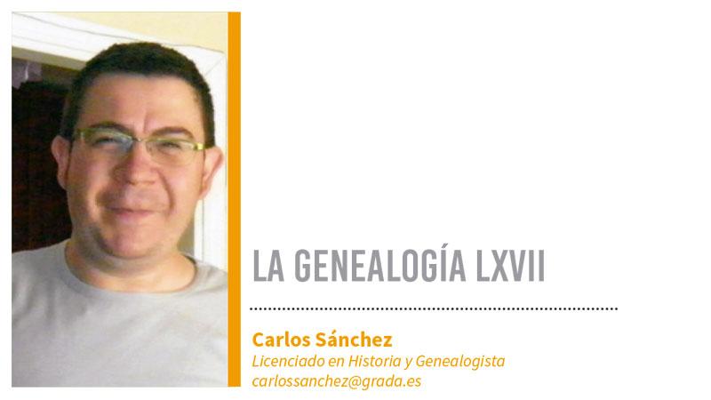 Genealogía LXVII. Grada 129. Carlos Sánchez