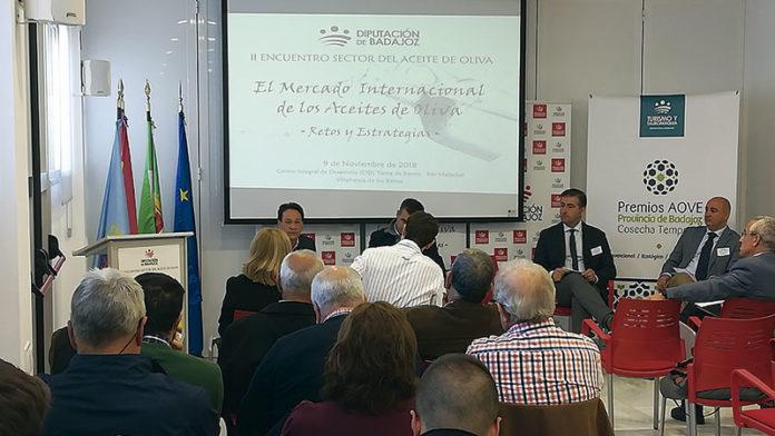 Programa de apoyo a las empresas agroalimentarias del aceite de oliva. Grada 129. Diputación de Badajoz