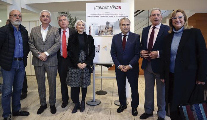Concurso de ideas de Fundación CB para su nueva sede en el casco antiguo de Badajoz. Grada 129