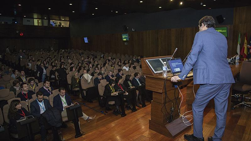 Cáceres acoge el Foro Innova Extremadura 2018. Grada 129. Fundecyt-Pctex