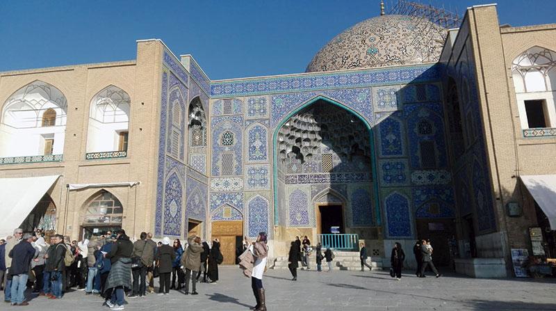 La gran plaza de Isfahán. Grada 129. Viajes