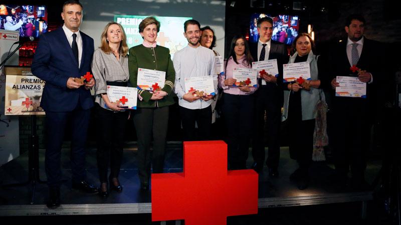 Cruz Roja de España en Extremadura entrega sus Premios Alianzas 2018