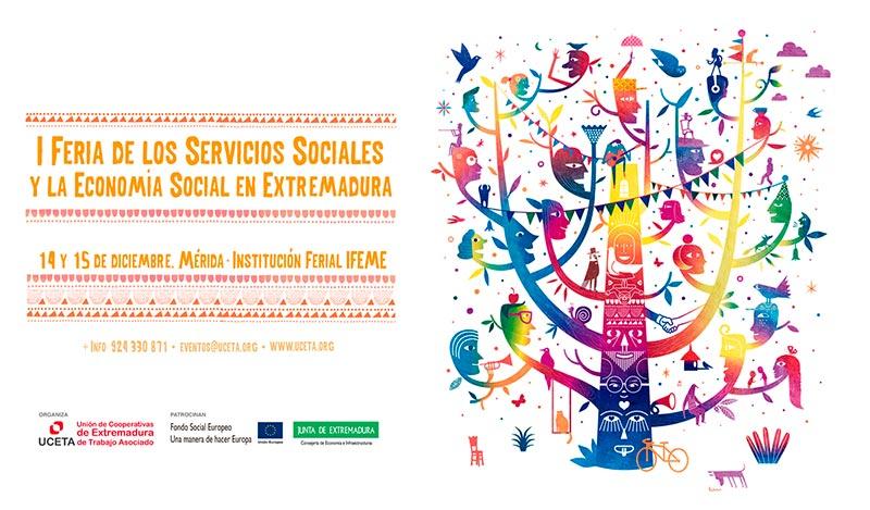 Mérida acogerá La I Feria de los servicios sociales y la economía social