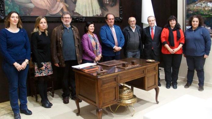 Caja Rural de Extremadura entrega 19.450 euros a cuatro asociaciones para la puesta en marcha de proyectos sociales