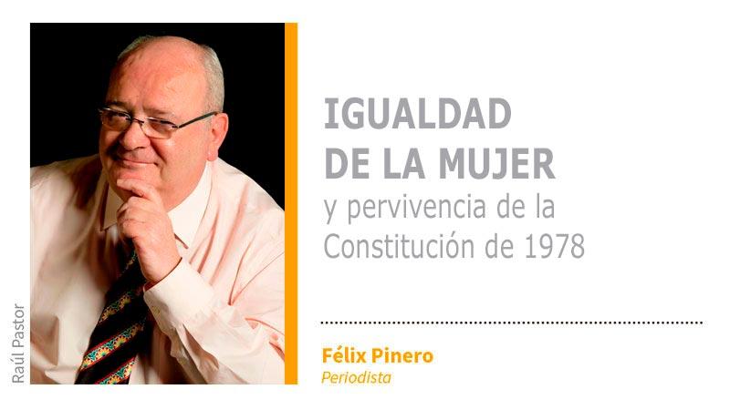 Igualdad de la mujer y pervivencia de la Constitución de 1978