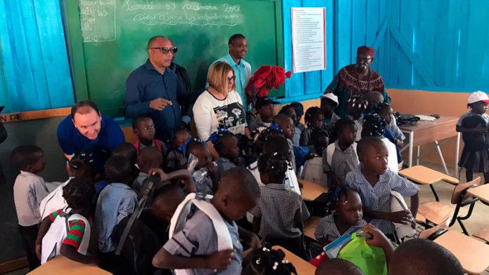 Las diputaciones provinciales extremeñas y Aexcid impulsan la educación en Haití