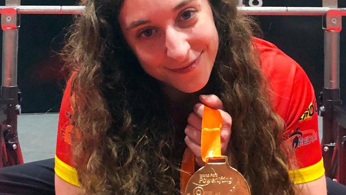 Loida Zabala revalida el campeonato del Open de las Américas de para powerlifting