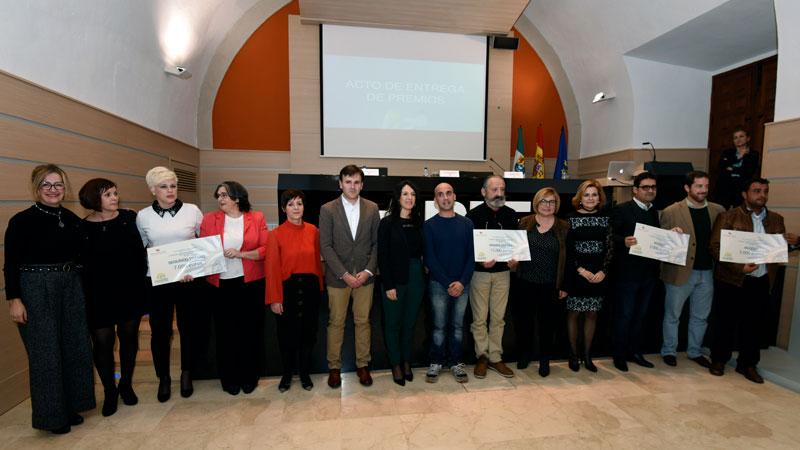 La Diputación de Cáceres entrega los Premios del Programa de Ideas Emprendedoras