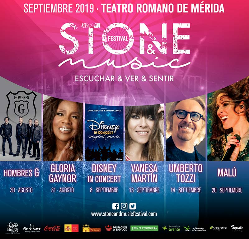 El 'Stone & Music Festival' de Mérida presenta su programación para la edición de 2019