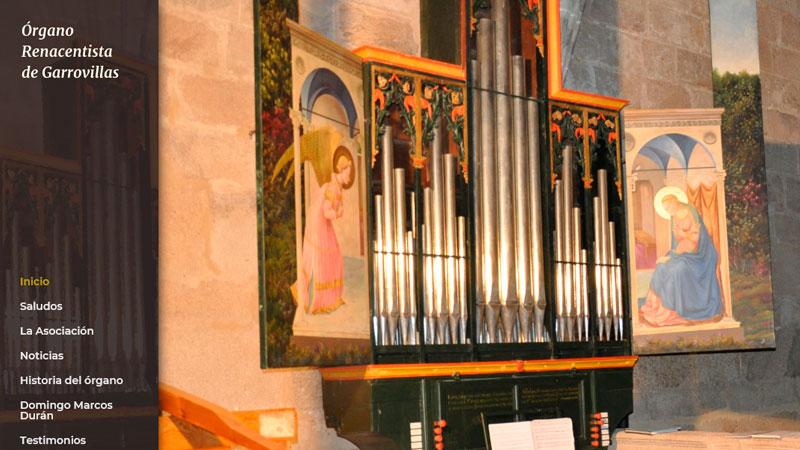 El tesoro del órgano renacentista de Garrovillas de Alconétar