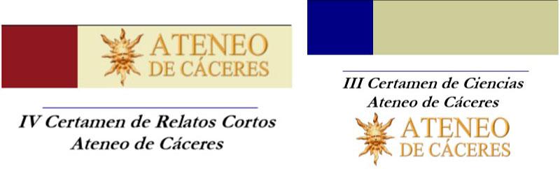 El Ateneo de Cáceres convoca el IV Certamen de relato corto y el III Certamen de Ciencias
