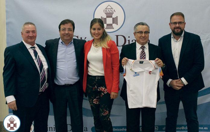 Clínica Diana celebra sus 25 años de trayectoria apoyando al deporte de élite. Grada 129. Patrocina un deportista