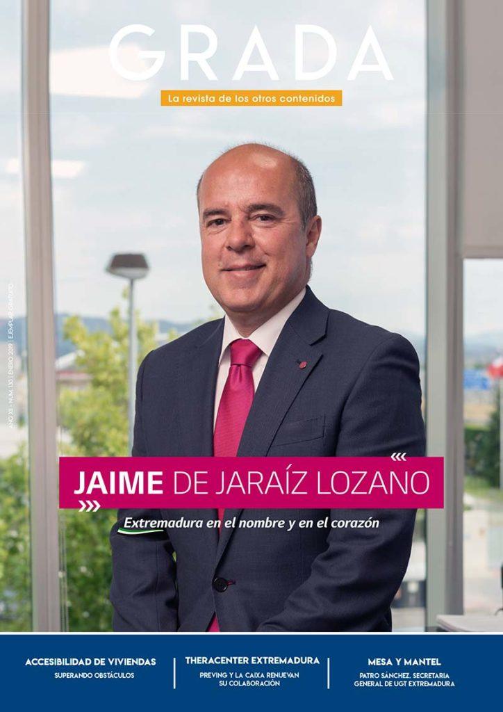 Jaime de Jaraíz Lozano. Extremadura en el nombre y en el corazón. Grada 130. Portada