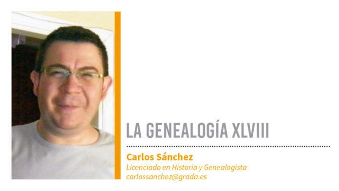 Genealogía LXVIII. Grada 130. Carlos Sánchez