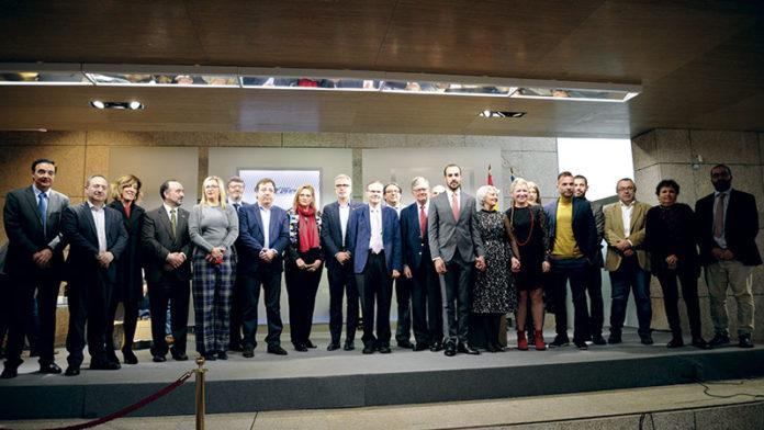La Asamblea de Extremadura acoge el acto de entrega de los Premios Otaex 2018. Grada 130